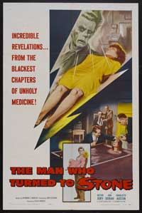 The Man Who Turned to Stone - 27 x 40 Movie Poster - Style A