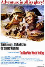 The Man Who Would Be King - 27 x 40 Movie Poster - Style A