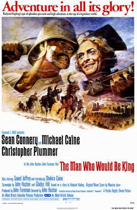 The Man Who Would Be King - 11 x 17 Movie Poster - Style A