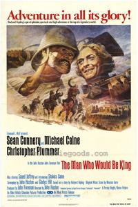 The Man Who Would Be King - 43 x 62 Movie Poster - Bus Shelter Style A