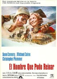 The Man Who Would Be King - 27 x 40 Movie Poster - Spanish Style A