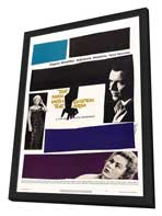 The Man with the Golden Arm - 27 x 40 Movie Poster - Style B - in Deluxe Wood Frame