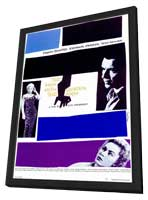 The Man with the Golden Arm - 11 x 17 Movie Poster - Style B - in Deluxe Wood Frame
