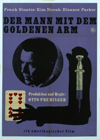 The Man with the Golden Arm - 11 x 17 Movie Poster - Style C