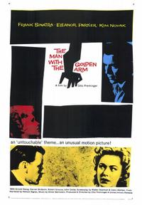 The Man with the Golden Arm - 43 x 62 Movie Poster - Bus Shelter Style A