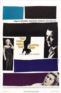 The Man with the Golden Arm - 27 x 40 Movie Poster - Style B