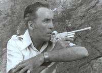 The Man with the Golden Gun - 8 x 10 B&W Photo #1
