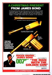 The Man with the Golden Gun - 43 x 62 Movie Poster - Bus Shelter Style A
