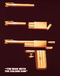The Man with the Golden Gun - 11 x 17 Movie Poster - Style F
