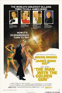 The Man with the Golden Gun - 27 x 40 Movie Poster - Style E