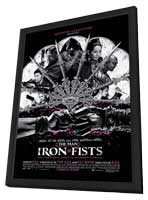 The Man with the Iron Fists - 11 x 17 Movie Poster - Style A - in Deluxe Wood Frame