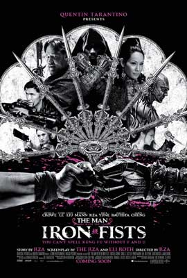 The Man with the Iron Fists - 27 x 40 Movie Poster - Style A