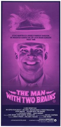 The Man with Two Brains - 11 x 17 Movie Poster - Style A