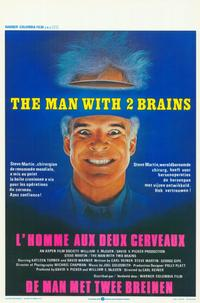 The Man with Two Brains - 11 x 17 Movie Poster - Belgian Style A