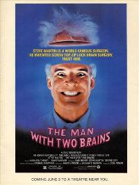 The Man with Two Brains - 27 x 40 Movie Poster - Style B