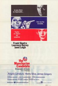 The Manchurian Candidate - 27 x 40 Movie Poster - Spanish Style A