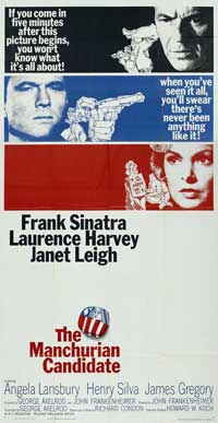 The Manchurian Candidate - 20 x 40 Movie Poster - Style A