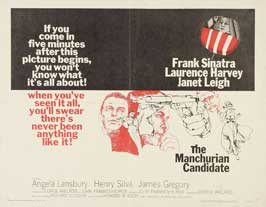 The Manchurian Candidate - 22 x 28 Movie Poster - Half Sheet Style A