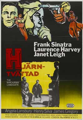 The Manchurian Candidate - 27 x 40 Movie Poster - Danish Style A