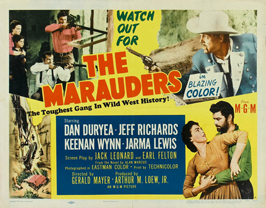 The Marauders - 22 x 28 Movie Poster - Half Sheet Style A