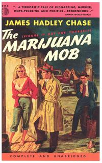 The Marijuana Mob - 11 x 17 Retro Book Cover Poster