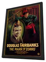 Mark of Zorro - 27 x 40 Movie Poster - Style A - in Deluxe Wood Frame