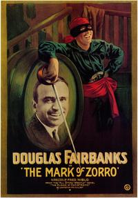 Mark of Zorro - 43 x 62 Movie Poster - Bus Shelter Style A