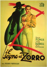 The Mark of Zorro - 11 x 17 Movie Poster - Style B