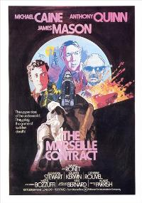 The Marseille Contract - 11 x 17 Movie Poster - UK Style A