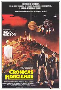 The Martian Chronicles - 11 x 17 Movie Poster - Spanish Style A