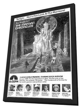The Martian Chronicles - 11 x 17 Movie Poster - Style A - in Deluxe Wood Frame