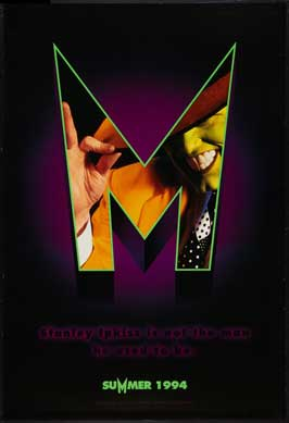 The Mask - 27 x 40 Movie Poster - Style C
