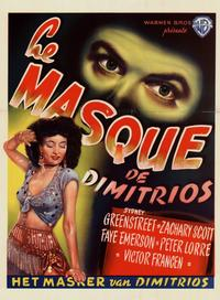Mask of Dimitrios, The - 11 x 17 Movie Poster - Belgian Style A