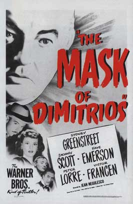 Mask of Dimitrios, The - 11 x 17 Movie Poster - Style A
