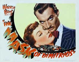 Mask of Dimitrios, The - 22 x 28 Movie Poster - Half Sheet Style A