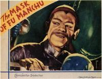 The Mask of Fu Manchu - 11 x 14 Movie Poster - Style B