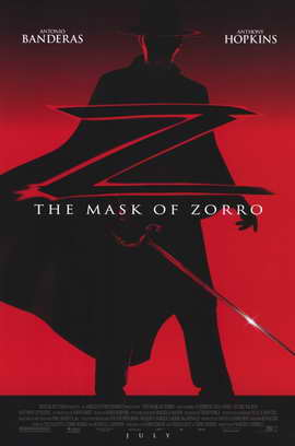 The Mask of Zorro - 11 x 17 Movie Poster - Style A