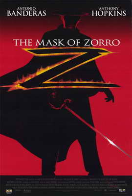 The Mask of Zorro - 11 x 17 Movie Poster - Style C