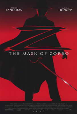 The Mask of Zorro - 27 x 40 Movie Poster - Style A