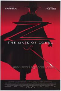 The Mask of Zorro - 43 x 62 Movie Poster - Bus Shelter Style A