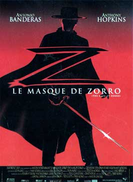 The Mask of Zorro - 11 x 17 Movie Poster - French Style A