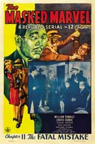 The Masked Marvel - 27 x 40 Movie Poster - Style B