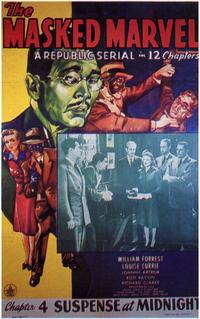 The Masked Marvel - 11 x 17 Movie Poster - Style D