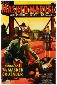 The Masked Marvel - 27 x 40 Movie Poster - Style A