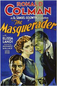 The Masquerader - 27 x 40 Movie Poster - Style A