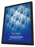 The Master - 11 x 17 Movie Poster - Style A - in Deluxe Wood Frame