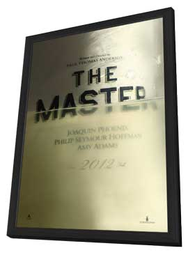The Master - 11 x 17 Movie Poster - Style B - in Deluxe Wood Frame