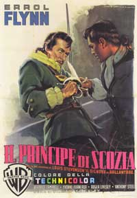 The Master of Ballantrae - 11 x 17 Movie Poster - Italian Style A