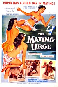 The Mating Urge - 11 x 17 Movie Poster - Style A