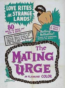 The Mating Urge - 11 x 17 Movie Poster - Style C